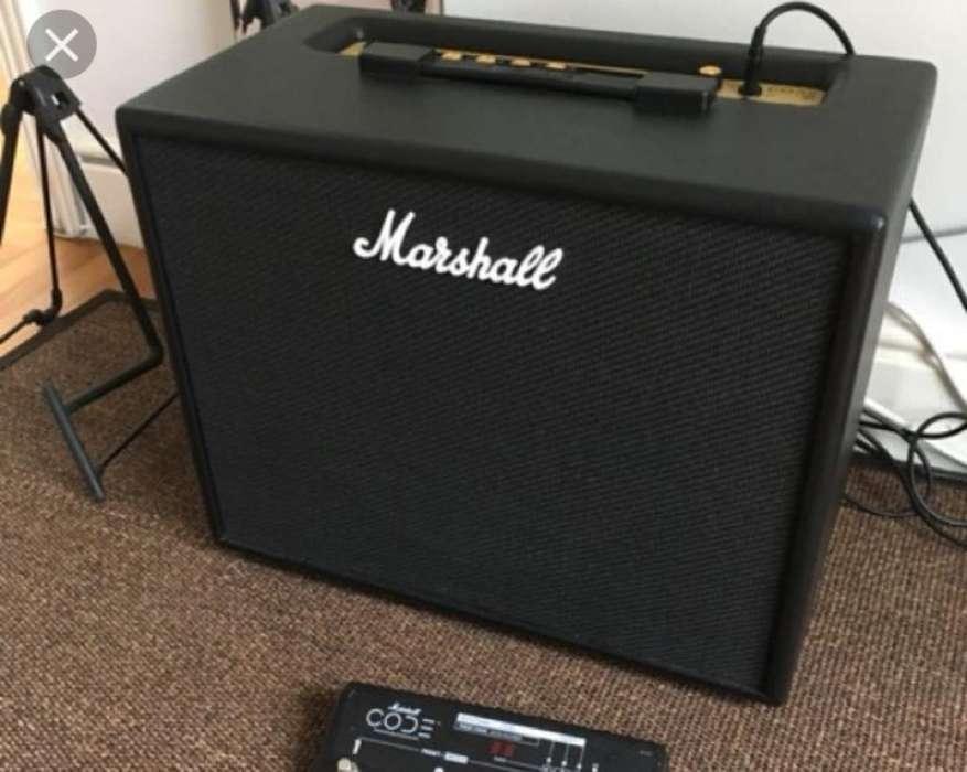 Amplificador Marshall Code 50 Como Nuevo