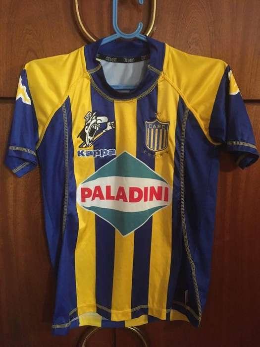 Camiseta Rosario Central Kappa niño talle 12