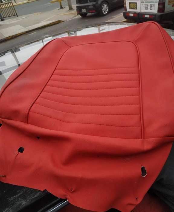 Ford Mustang tapices rojos de asientos Vendo