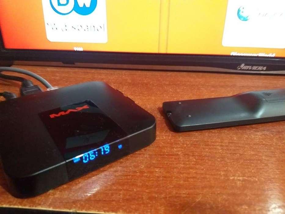 Tv Box programado con canales
