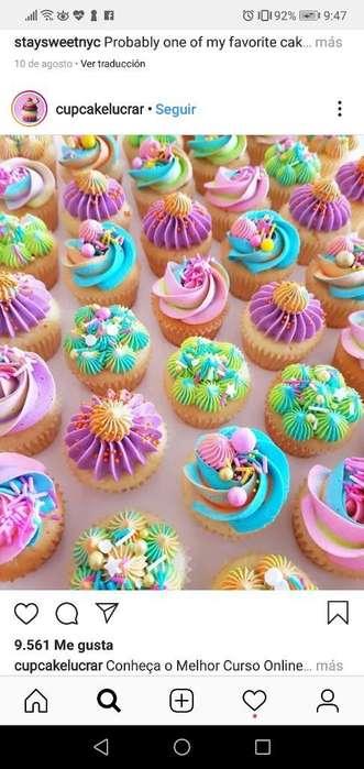 Cup Cake Decorados para Eventos