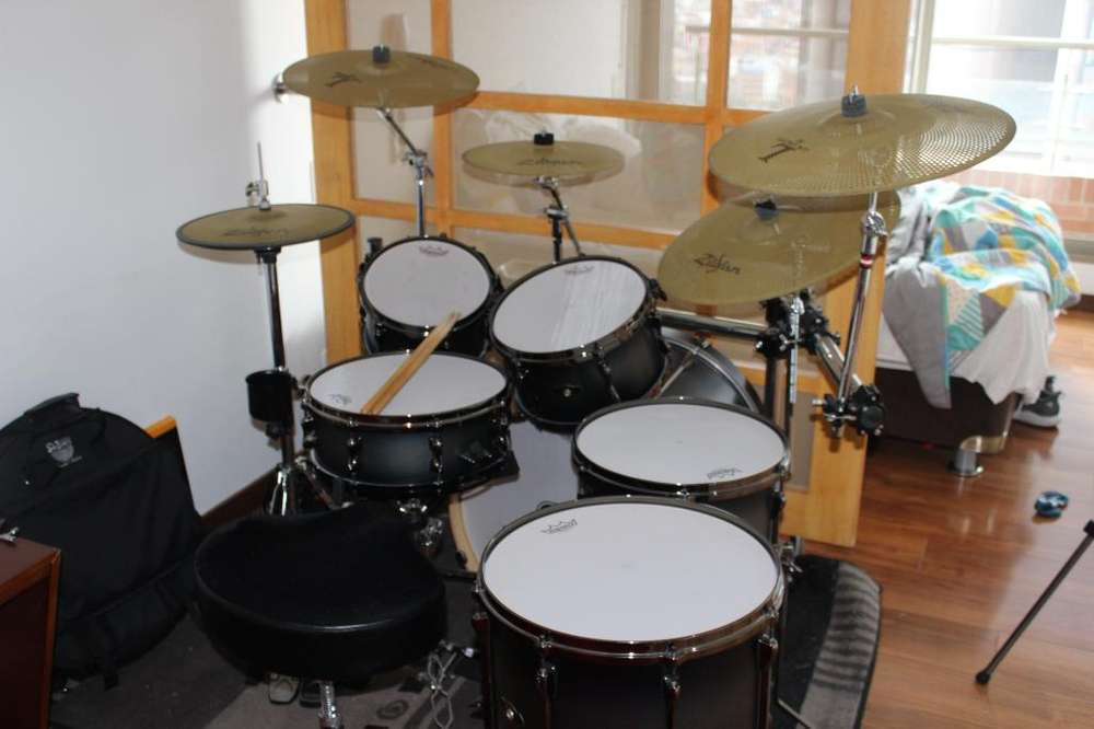 Tama Hyperdrive Birch Zildjian Low Volume