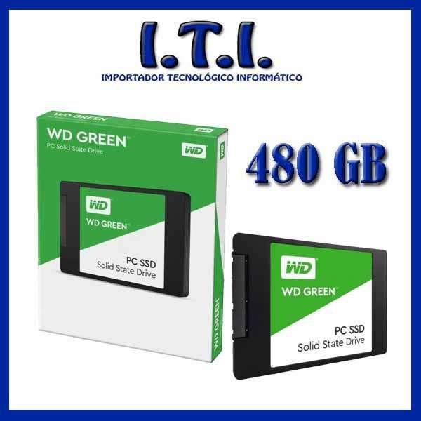 Disco de Estado Sólido WD 480 GB