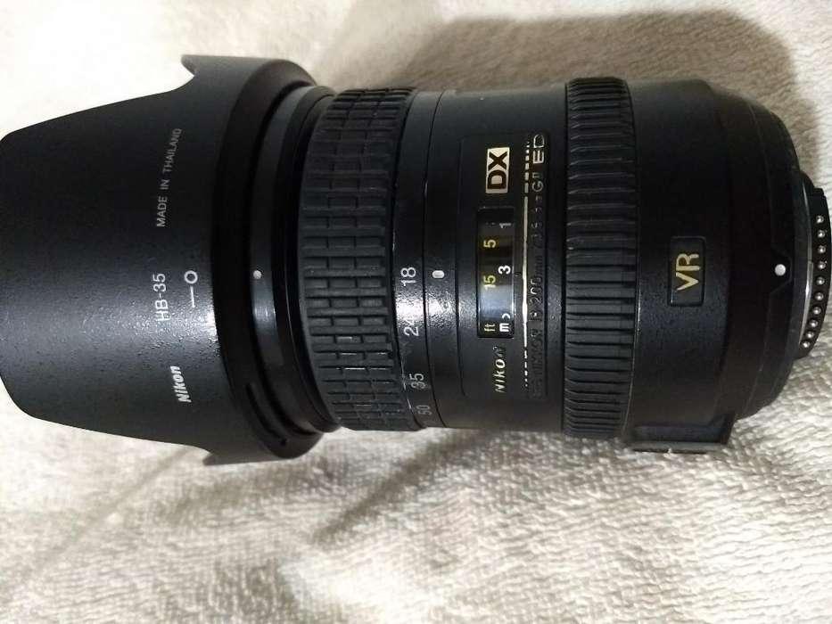 Lente Nikon 18-200mm Vr2