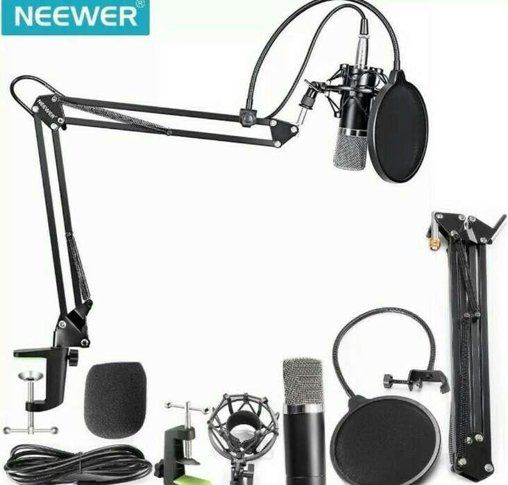 Microfono Condensador Profesional Neewer