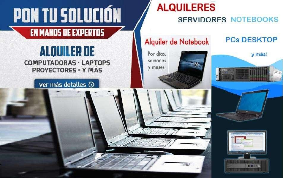 Empresas y Particulares Alquiler Laptop PC/Gamer, Impres Multif, Proyector Alquiler Consultas[wtsp]955022963