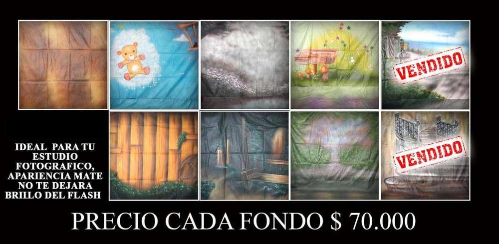 VENTA DE FONDOS FOTOGRAFICOS USADOS