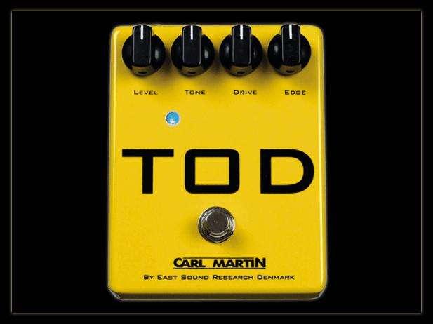 Pedal De Guitarra Carl Martin Tod Overdrive/distorsión