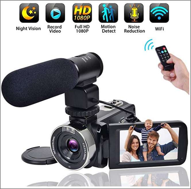 Vendo Cámara de Video FHD Nueva