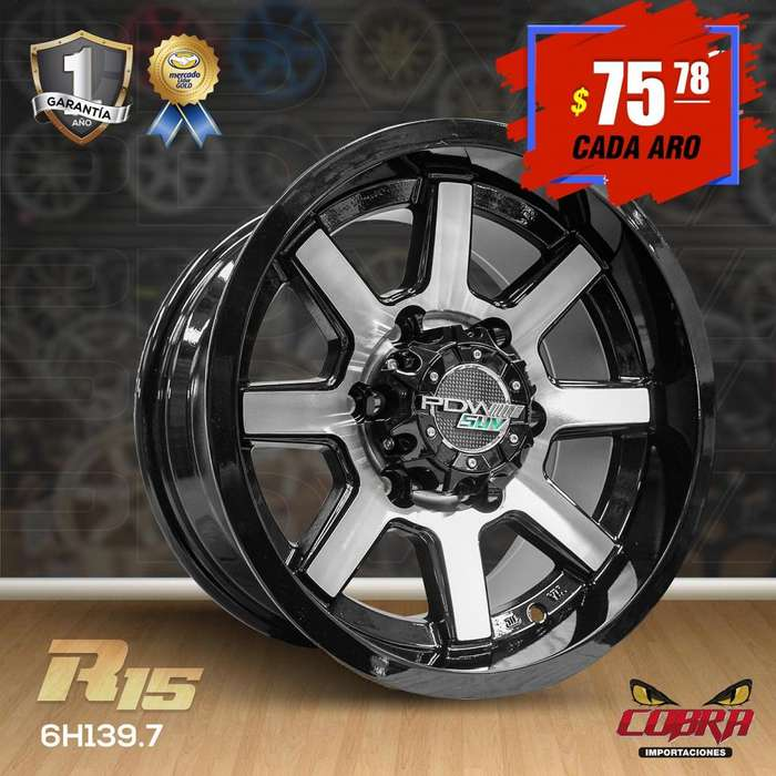 Aros Rin 15 Toyota Hilux 4x2 Ford Ranger Ford Explorer Jeep_2847