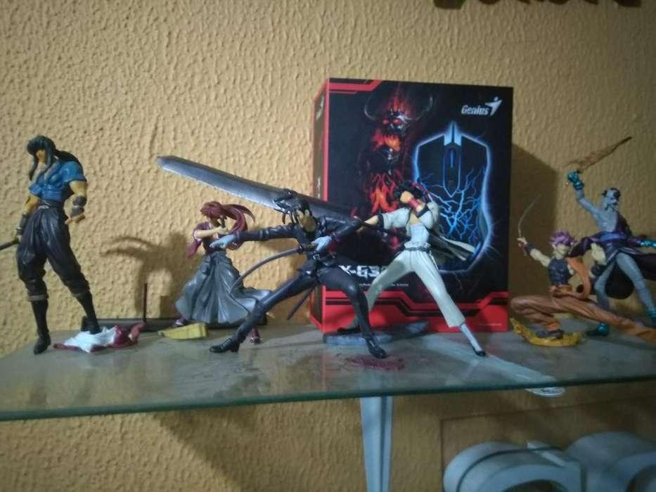 Muñecos de Samuray X