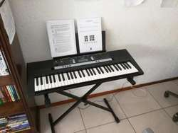 Piano Yamaha PSR E243 Adaptador Funda/Covertor
