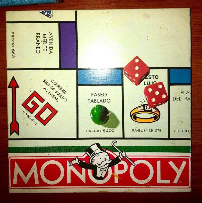 Monopoly Monopolio Clásico Original Hasbro