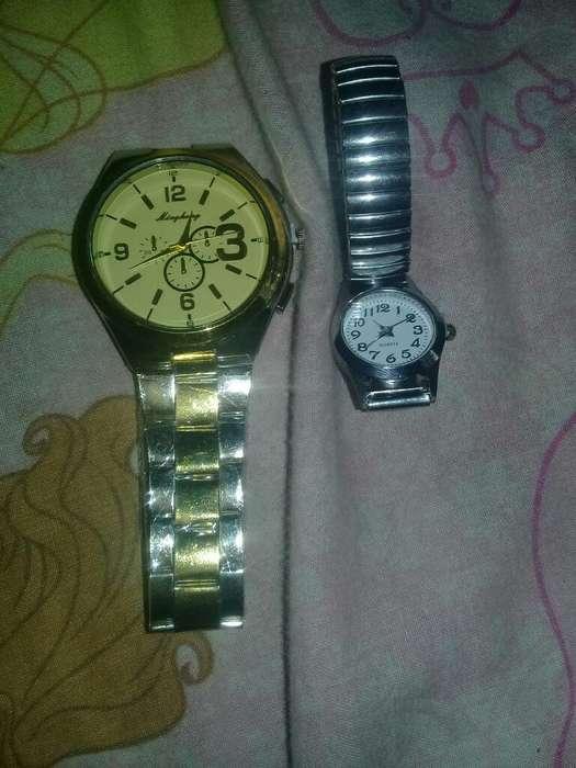 Hermosos Reloj de Hombre Mujer