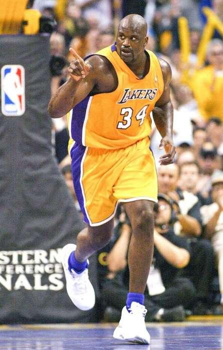Camiseta NBA Shaq Oneal Los Angeles Lakers