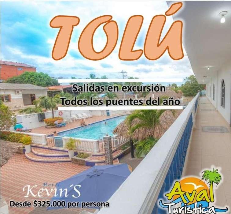 Excursiones a TOLÚ EN HOTEL KEVIN'S Desde 350.000 EN 2019
