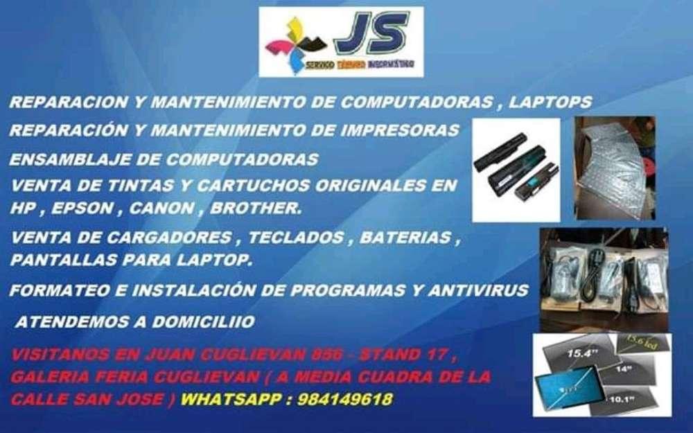 Impresoras , Laptops , Pc