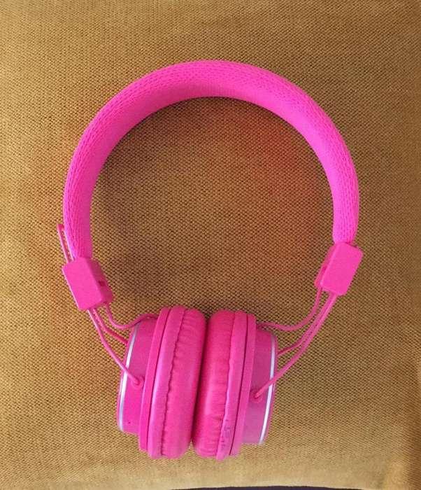Audifonos Nia Bluetooth, Llamadas, Sd