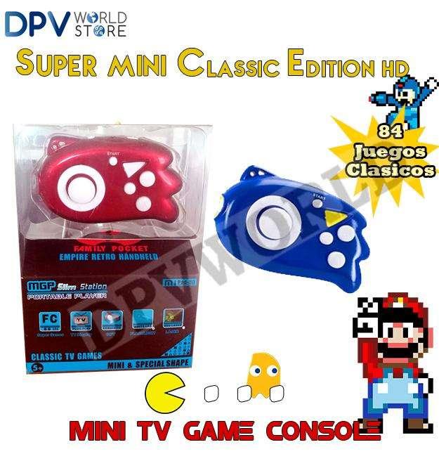 Consola Mini con Juegos <strong>nes</strong> Incluye los clasicos mario Megaman y muchos mas
