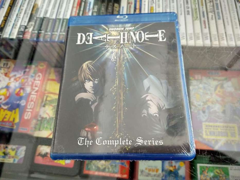 Pack de DEATH NOTE en bluray. Serie completa