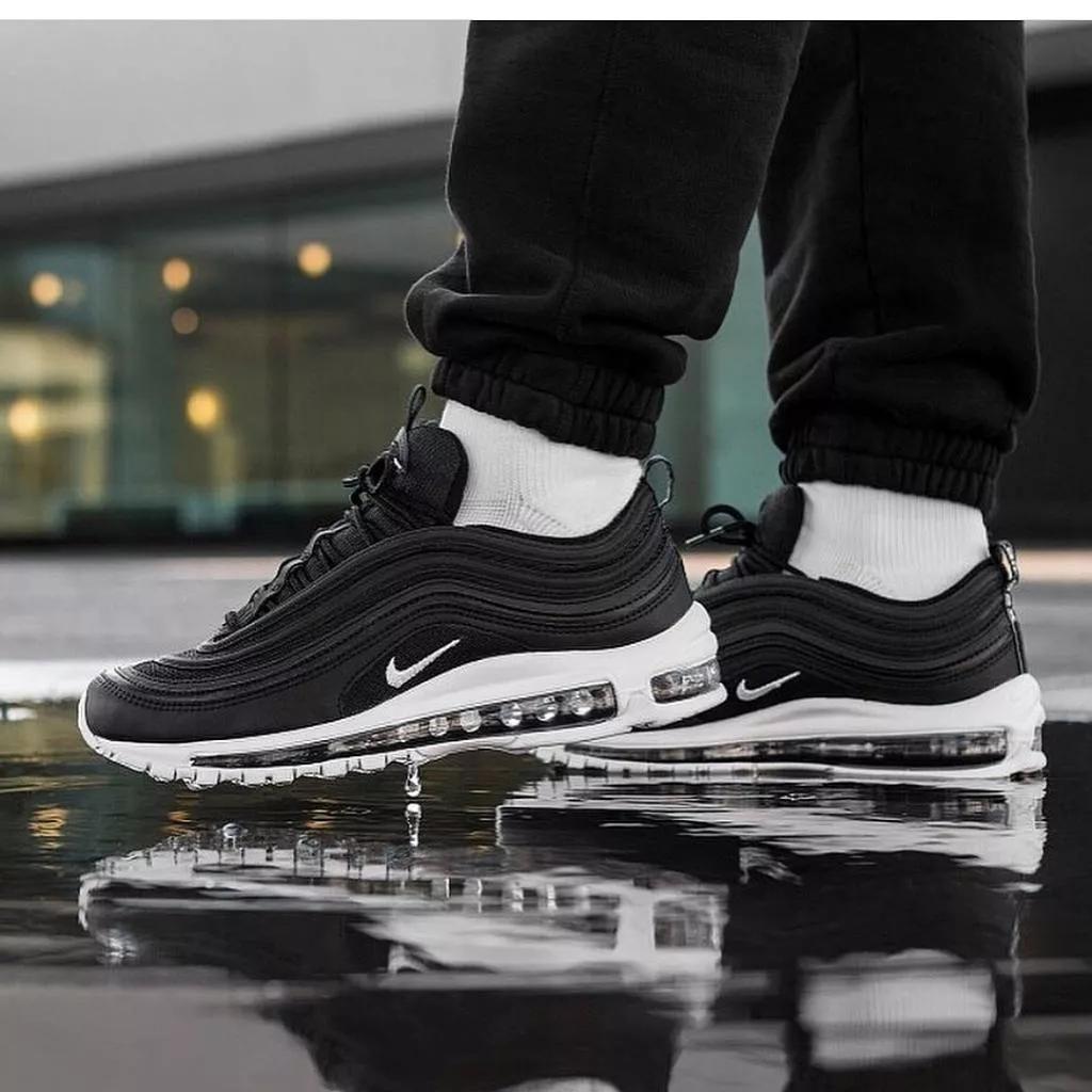 Zapatos Nike Air Max 97 Negro Blanco Guayaquil