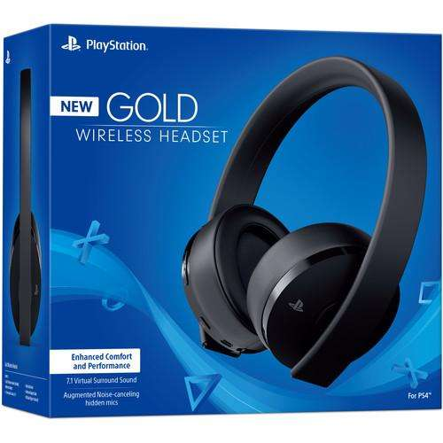 Audifonos Gold Play Station 4