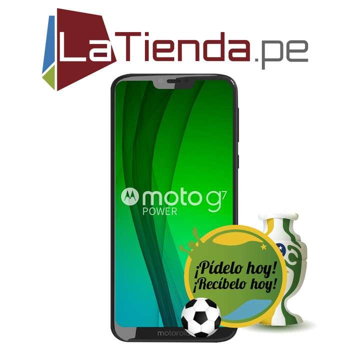 Motorola Moto G7 Power Pantalla HD