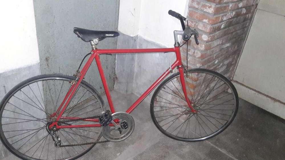 bicicleta retro de carrera