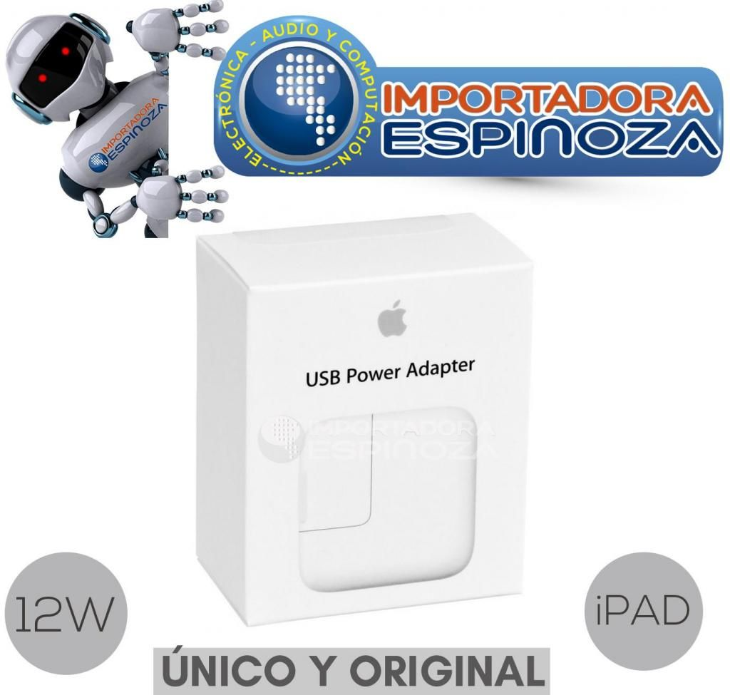 cf1dcaf37bc Cargador Pared Original Apple 12w Ipad Ipod Iphone Nuevo - Quito