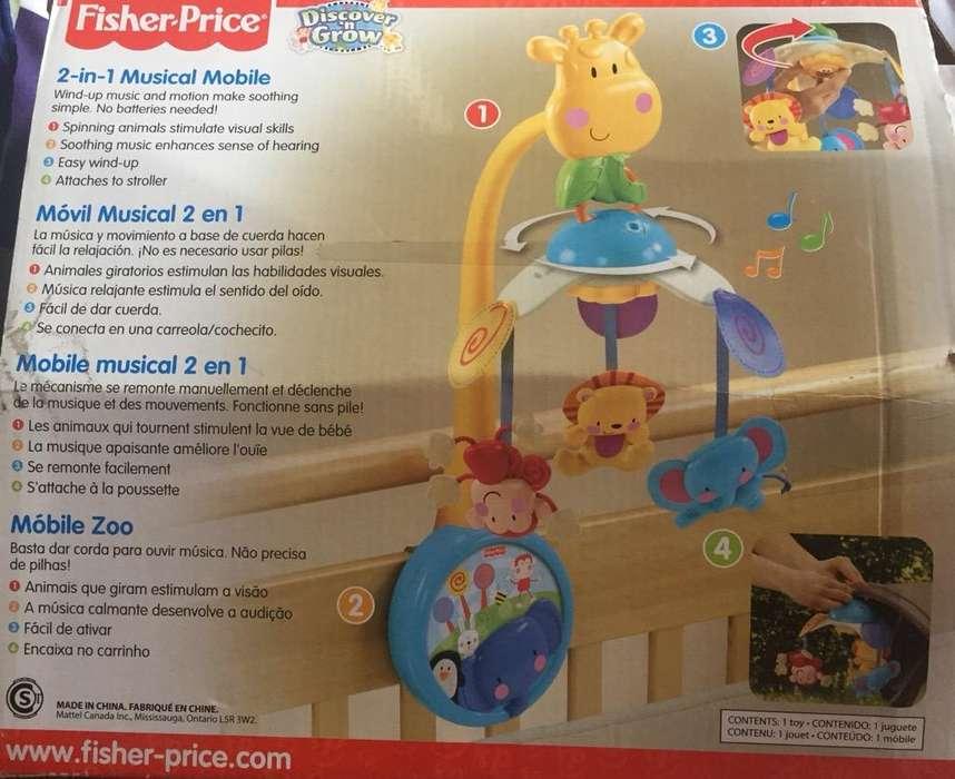 Móvil Fisher Price
