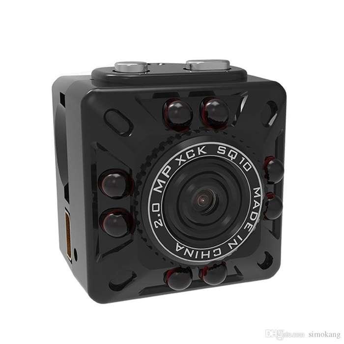 SQ10 Mini Camara Llavero Espia V.Nocturna Cam 120º FullHD 1080p
