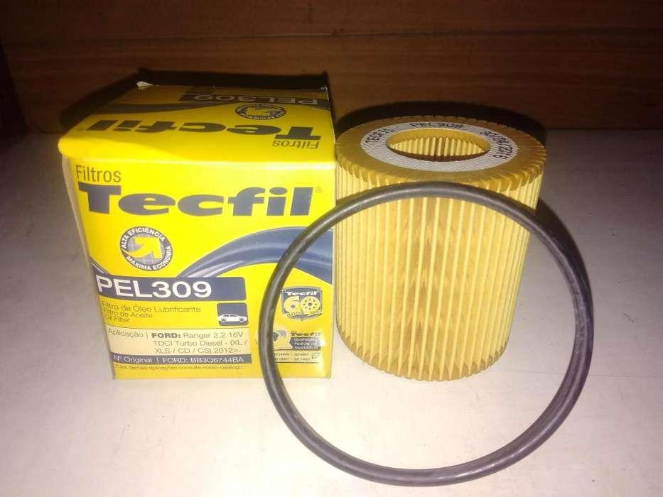 Filtro De Aceite Tecfil Pel309 mann Hu7000z P/ranger Tdci