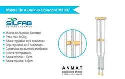 Alquiler y venta de muletas de aluminio Ortopedia