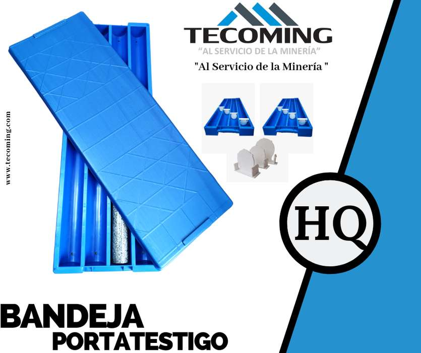 BANDEJAS PORTA<strong>testigo</strong>S HQ PARA LA EXPLORACIÓN DIAMANTINA - Core shack