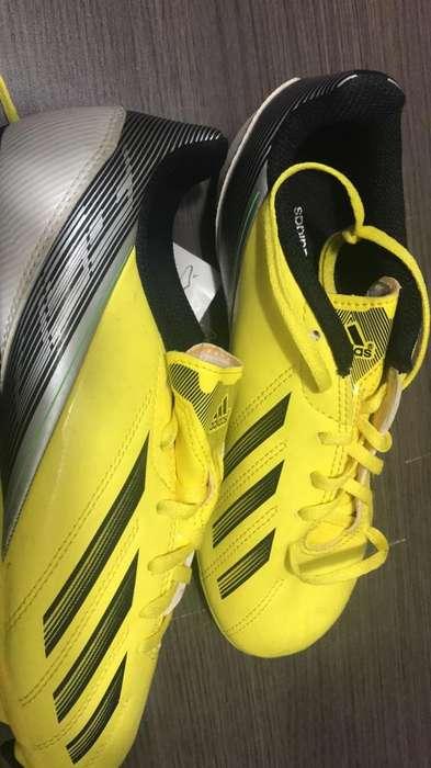 Guayos Adidas F50 Originales