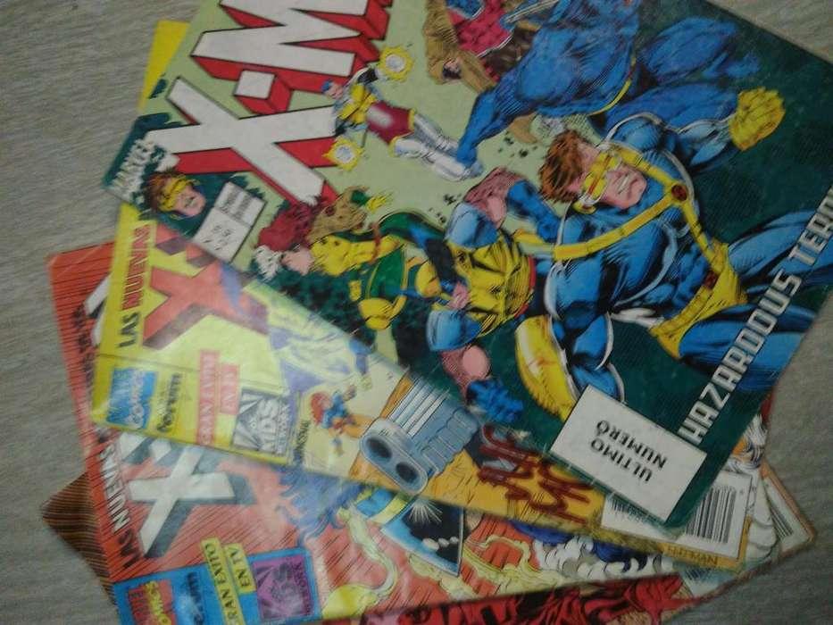 antiguas revistas historietas de colecion XMEN