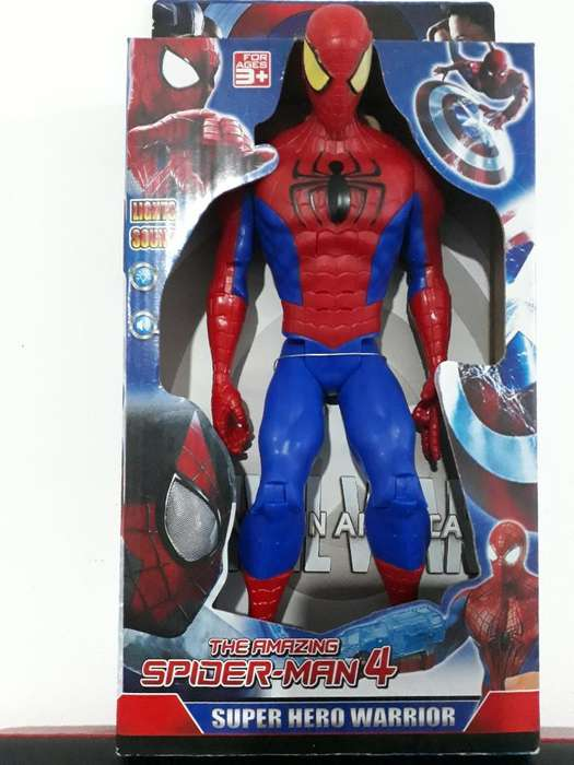 Muñeco Spider-man Avengers 30 Cm