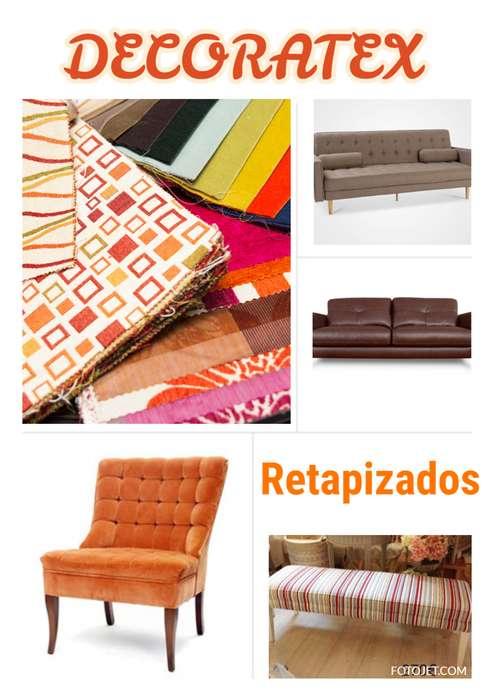 Retapizados de muebles, sillas y butacas