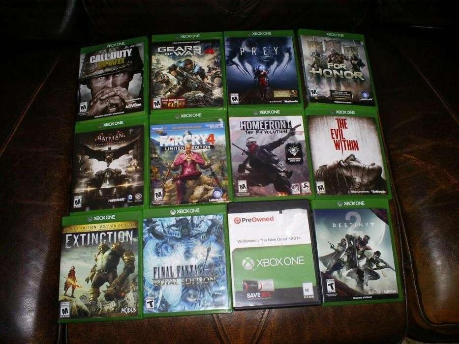 Juegos Fisicos Para Xbox One - Nuevos y con Garantia