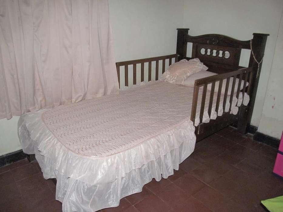 <strong>cama</strong> sencilla en madera
