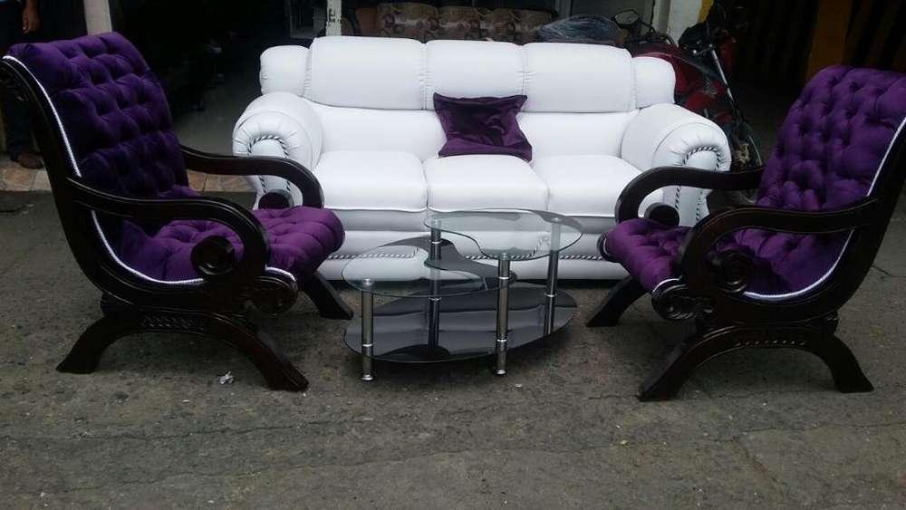 Sofa Skandia Y Dos <strong>silla</strong>s Alejandras Mes
