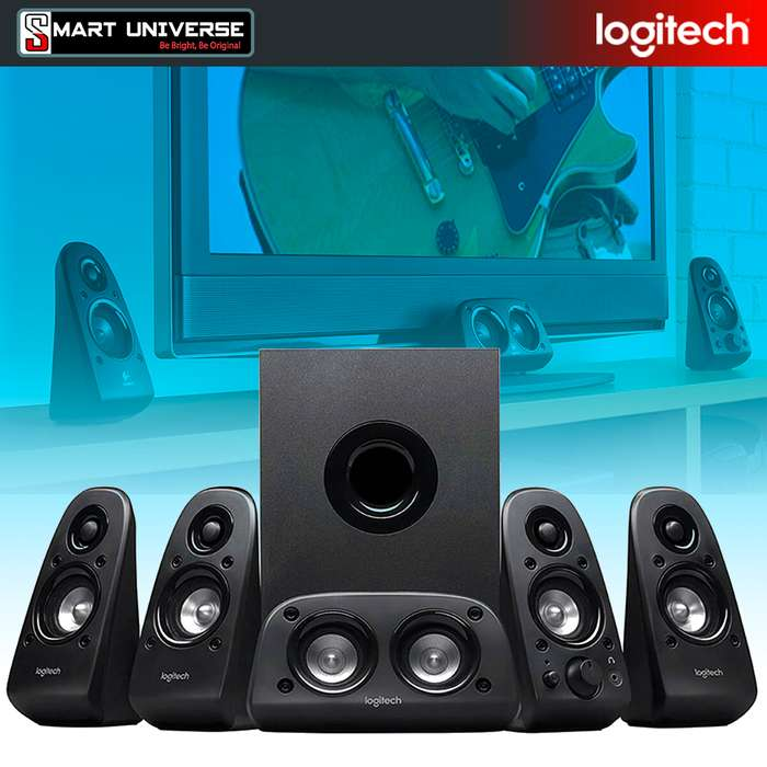 Parlante Logitech Z506 5.1 75w Cine en Casa PC TV Gamer