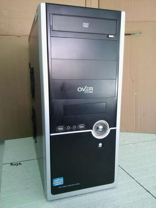 pc computadora i5 sin monitor lcd