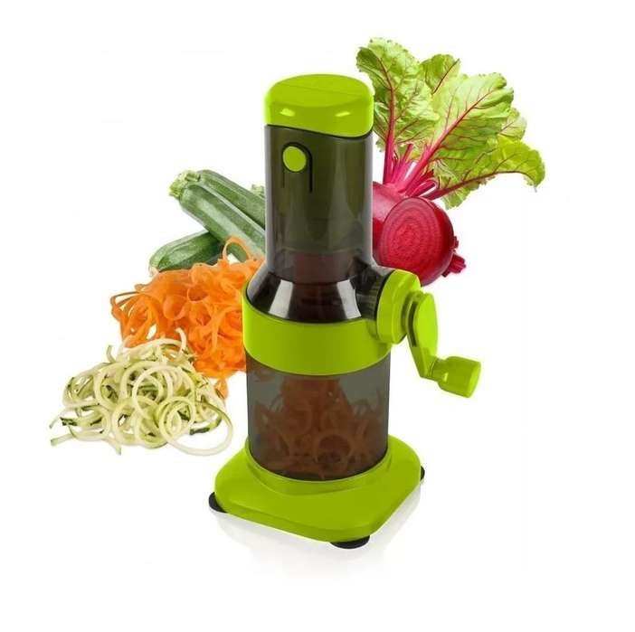 Espiralizador de Verduras Spiralizer. Cortador de Fideos de verduras, Espiral. Nuevos