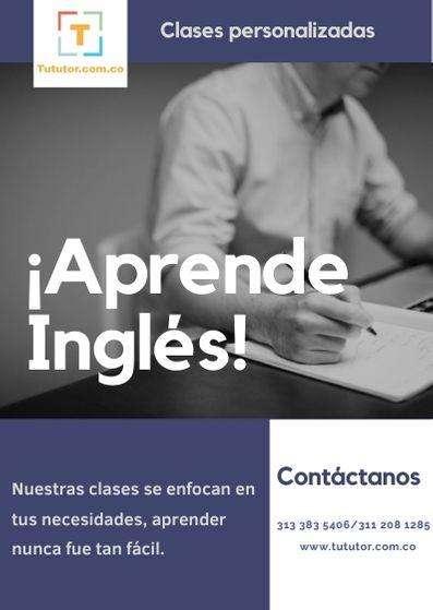 CLASES PERSONALIZADAS DE INGLÉS- CAJICA CHIA APRENDE INGLÉS AHORA