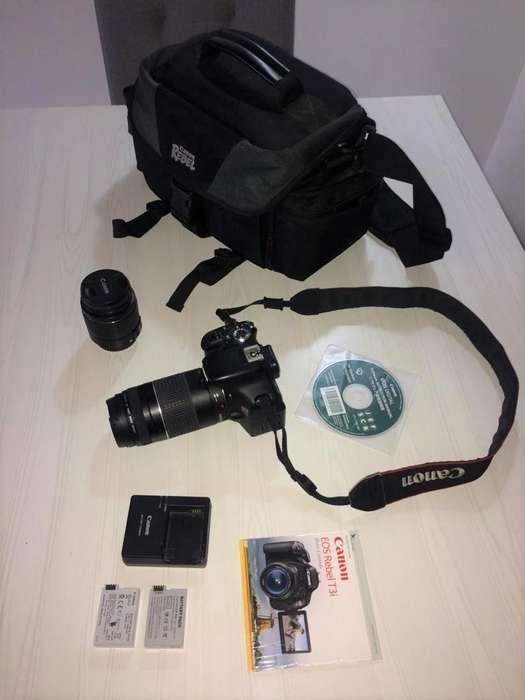 Canon T3i Como Nueva!!! Excelente COMBO!!