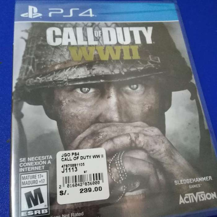 Call Of Duty Wwii Nuevo Ps4