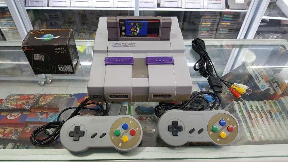 Super Nintendo Completo Full Estado