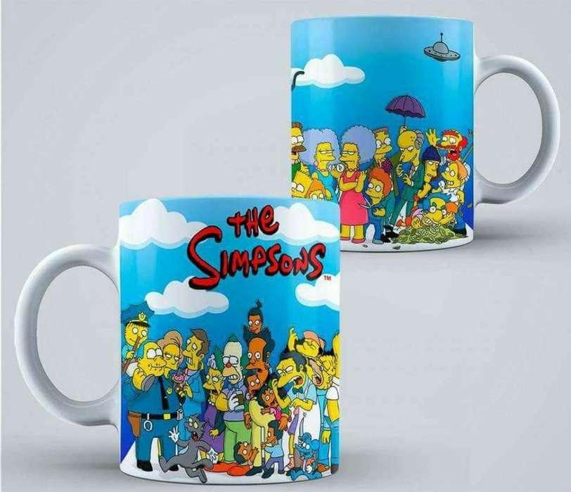 Taza Los Simpsons