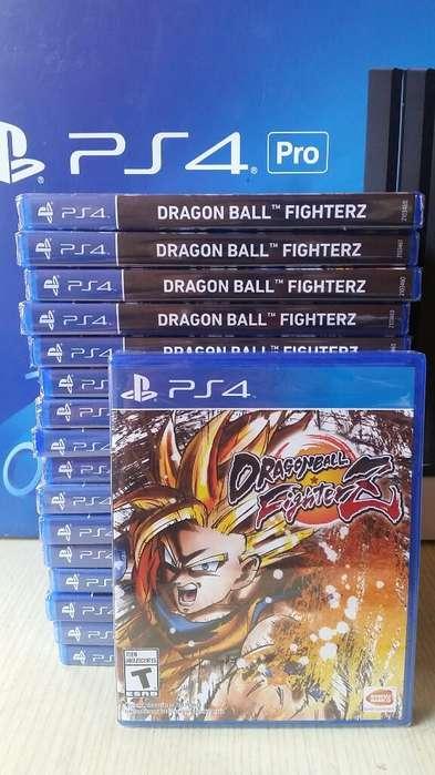 Dragon Ball Fighter Z Fighterz Ps4 Nuevo Sellado Stock